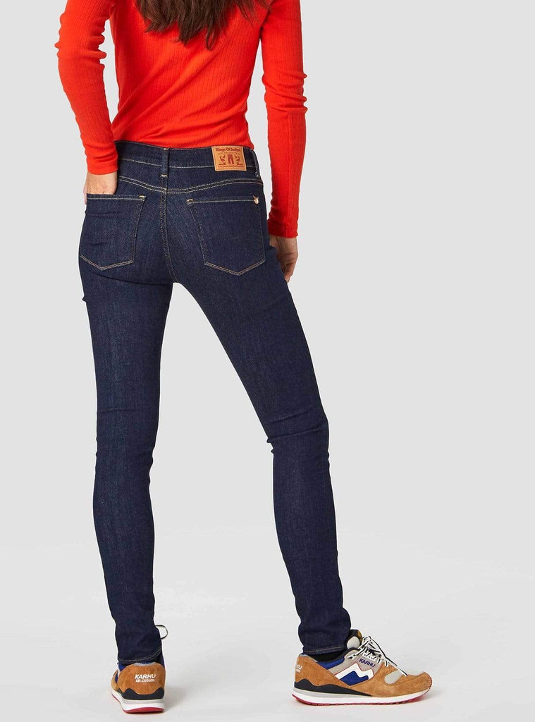 Juno Womens High Myla Rinse Jean, Womenswear, Kings Of Indigo, Milu James St