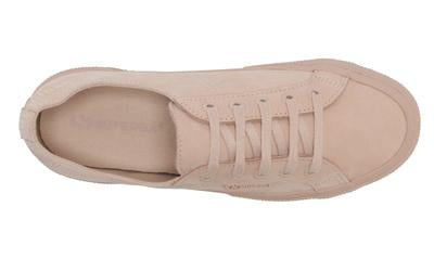 2750 Buttersoft Leather Total Pink Peach Blush, women sneaker, Superga, Milu James St