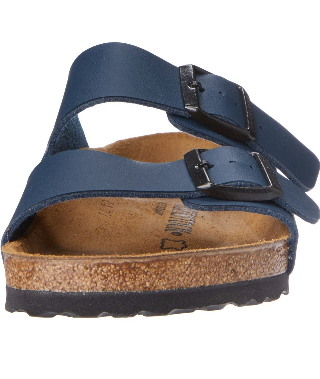 Arizona Smooth Leather in Blue (Classic Footbed), Sandals, Birkenstock, Milu James St