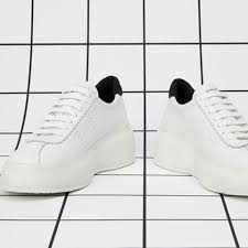 2822 Club 5 White- Black Leather Bubble sole, Sneakers, Superga, Milu James St