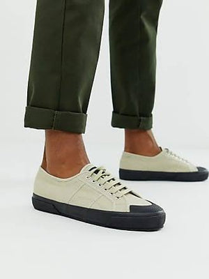 2390 Shortbread-Khaki Mens Sneaker, Sneakers, Superga, Milu James St
