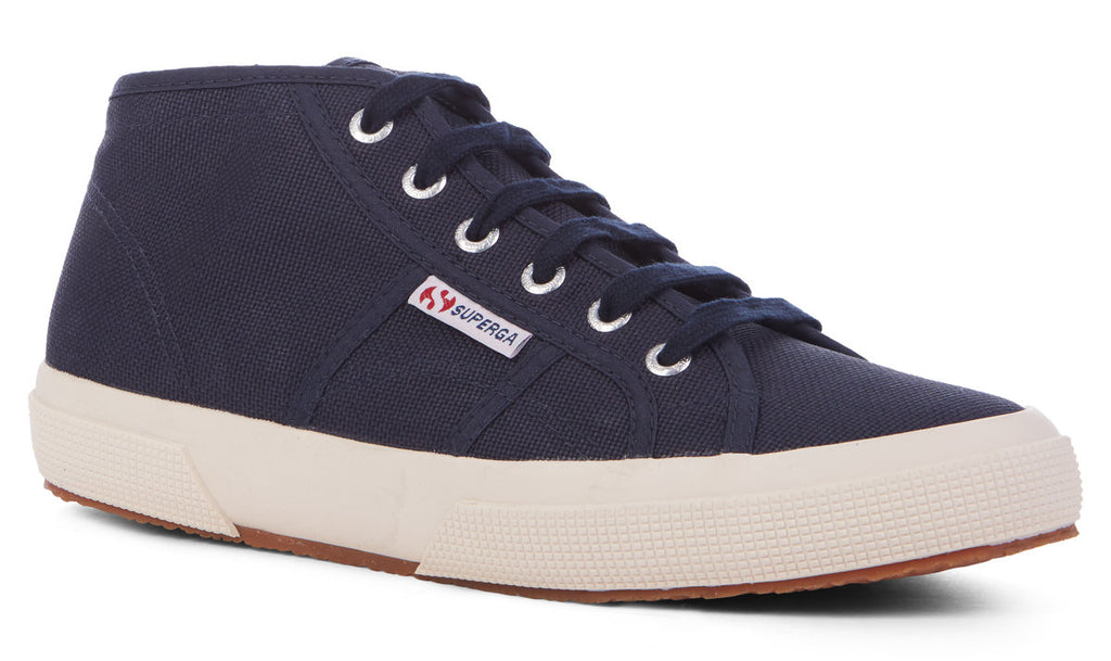2578 Cotu Classic Midtop in Navy, Sneakers, Superga, Milu James St