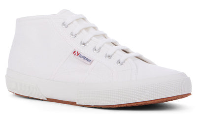 2754 Cotu Classic Midtop in White, Sneakers, Superga, Milu James St