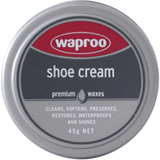 Waproo shoe cream, shoe care, waproo, Milu James St