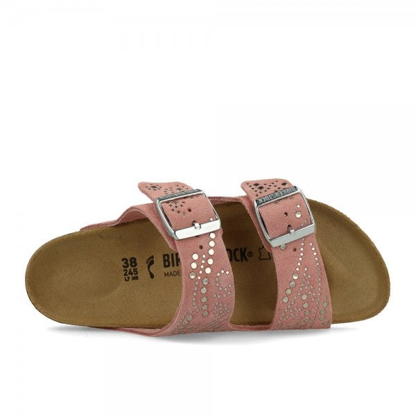 Arizona Injected Rivets Rose, womens sandals, Birkenstock, Milu James St