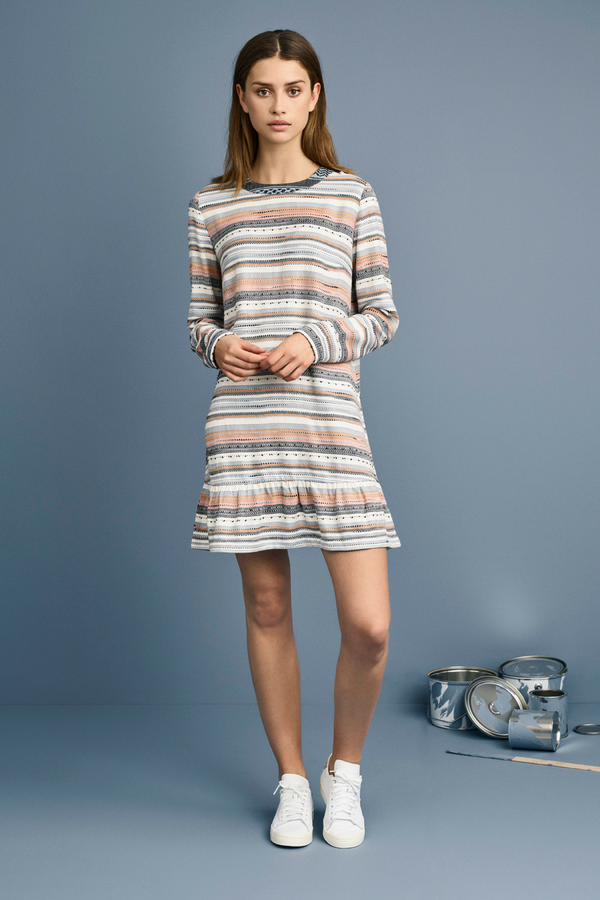 SeeSaw Dress, Long Sleeves