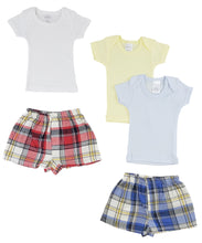 Load image into Gallery viewer, Infant Boys T-shirts And Boxer Shorts