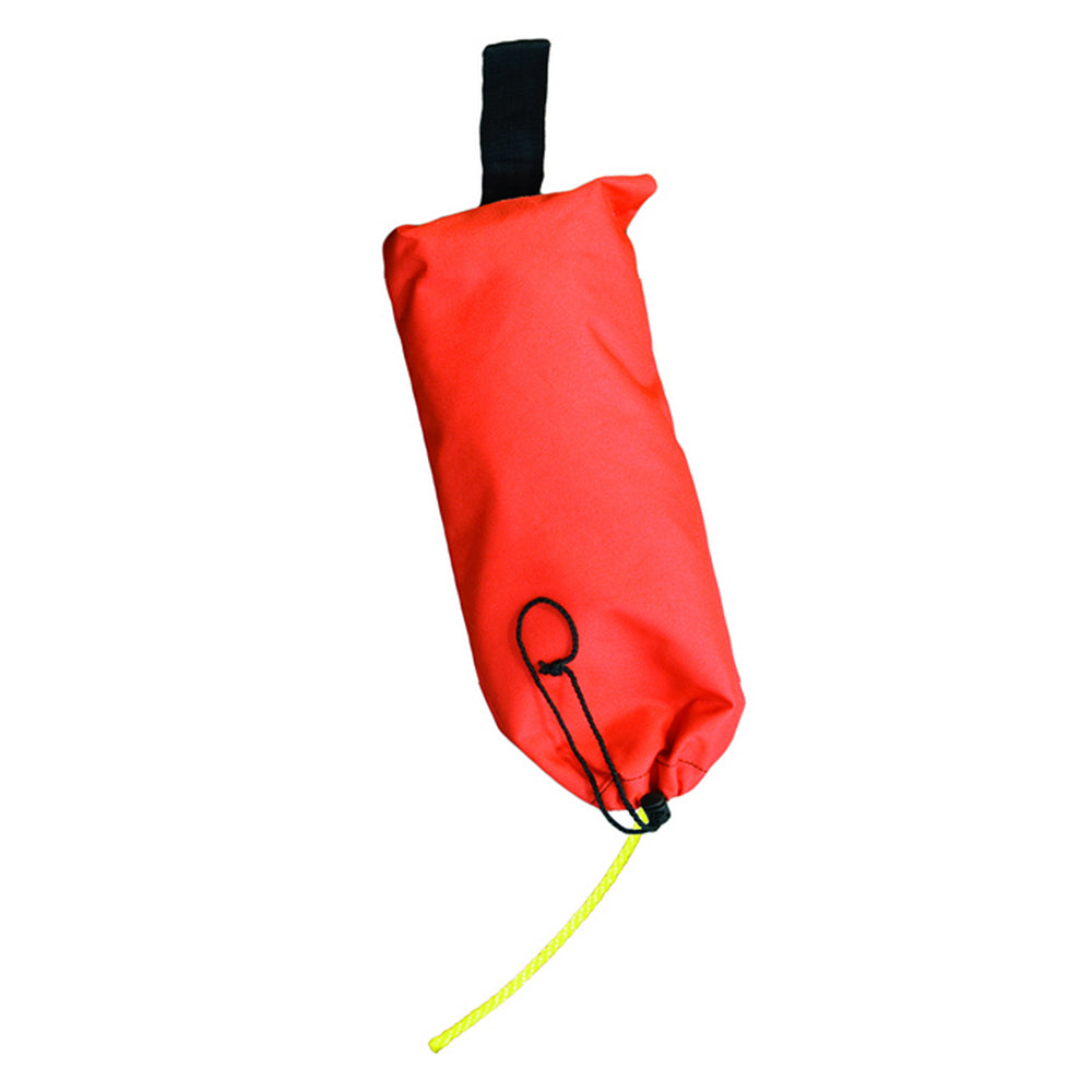 Mustang Ring Buoy Line w-Bag - 90'