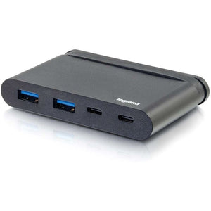 C2G USB C Hub with USB A, USB C and Power Delivery up to 100W