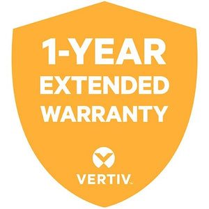 Vertiv 1 Year Silver Hardware Extended Warranty for Vertiv Cybex SC 800-900 Series Secure Desktop KVM Switches (SC680, SC780)
