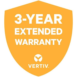 Vertiv 3 Year Extended Warranty for Vertiv Liebert GXT4 2000VA 120V UPS Includes Parts and Labor