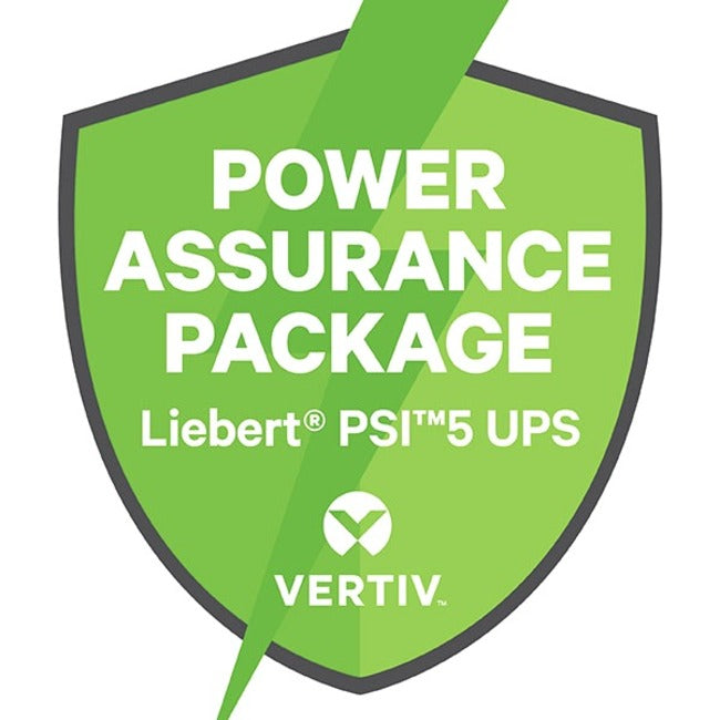 Vertiv Power Assurance Package for Vertiv Liebert PSI UPS External Battery Cabinets Includes Installation, Start-Up and Removal of Existing Batteries