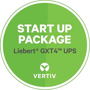 Vertiv Startup Installation Services for Vertiv Liebert GXT4 UPS Models up to 3kVA Includes Removal of Existing UPS
