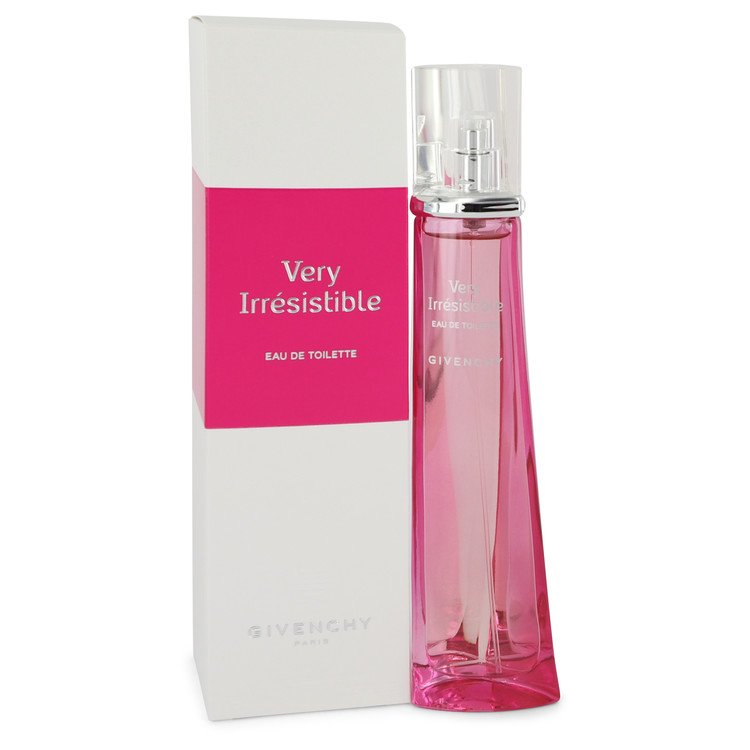 Very Irresistible by Givenchy Eau De Toilette Spray 2.5 oz for Women