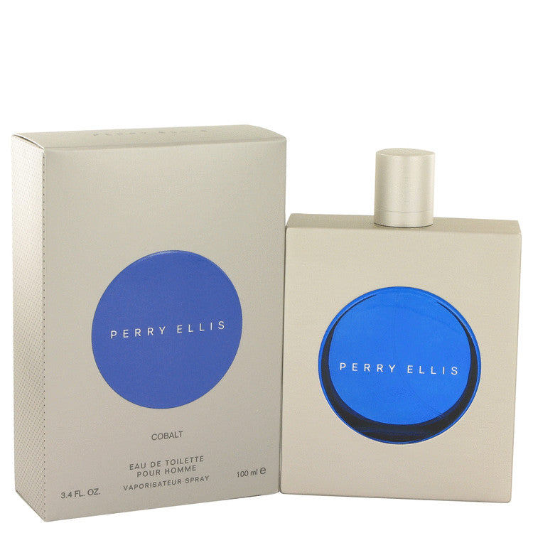 Perry Ellis Cobalt by Perry Ellis Eau De Toilette Spray 3.4 oz for Men
