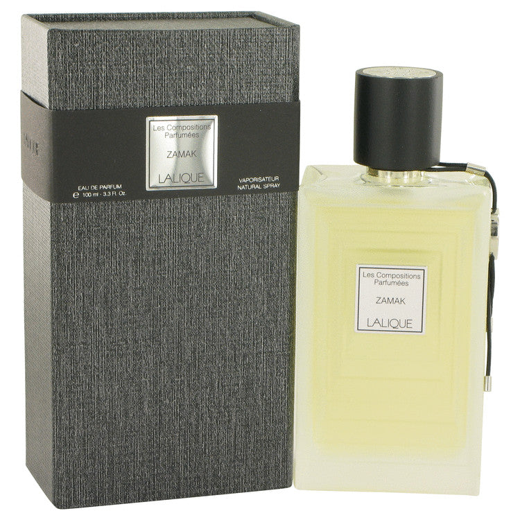 Les Compositions Parfumees Zamac by Lalique Eau De Parfum Spray 3.3 oz for Women