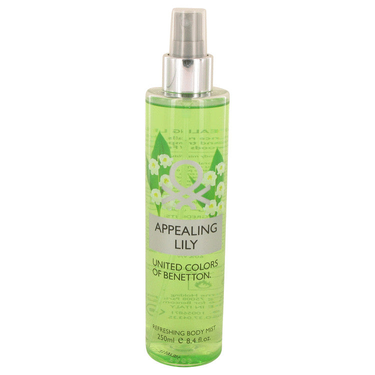 Appealing Lily by Benetton Body Mist 8.4 oz for Women