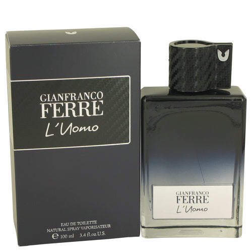 Gianfranco Ferre L'uomo by Gianfranco Ferre Eau De Toilette Spray 3.4 oz for Men