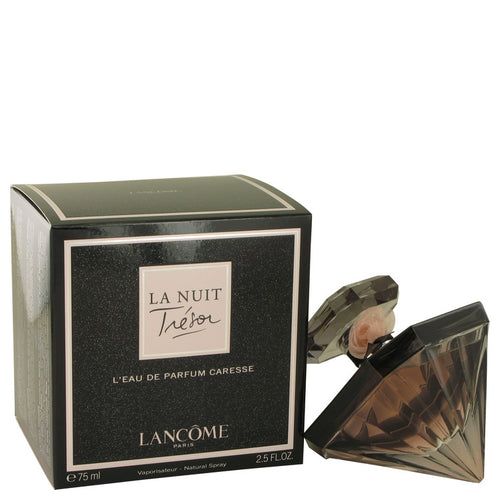 La Nuit Tresor Caresse by Lancome Eau De Parfum Spray 2.5 oz for Women