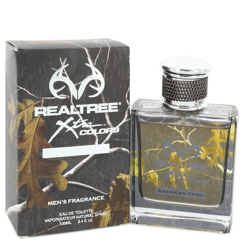 Realtree Xtra Colors by Jordan Outdoor Eau De Toilette Spray 3.4 oz for Men