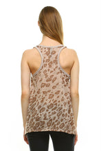 Load image into Gallery viewer, Women's Animal Print Jersey Tank Top