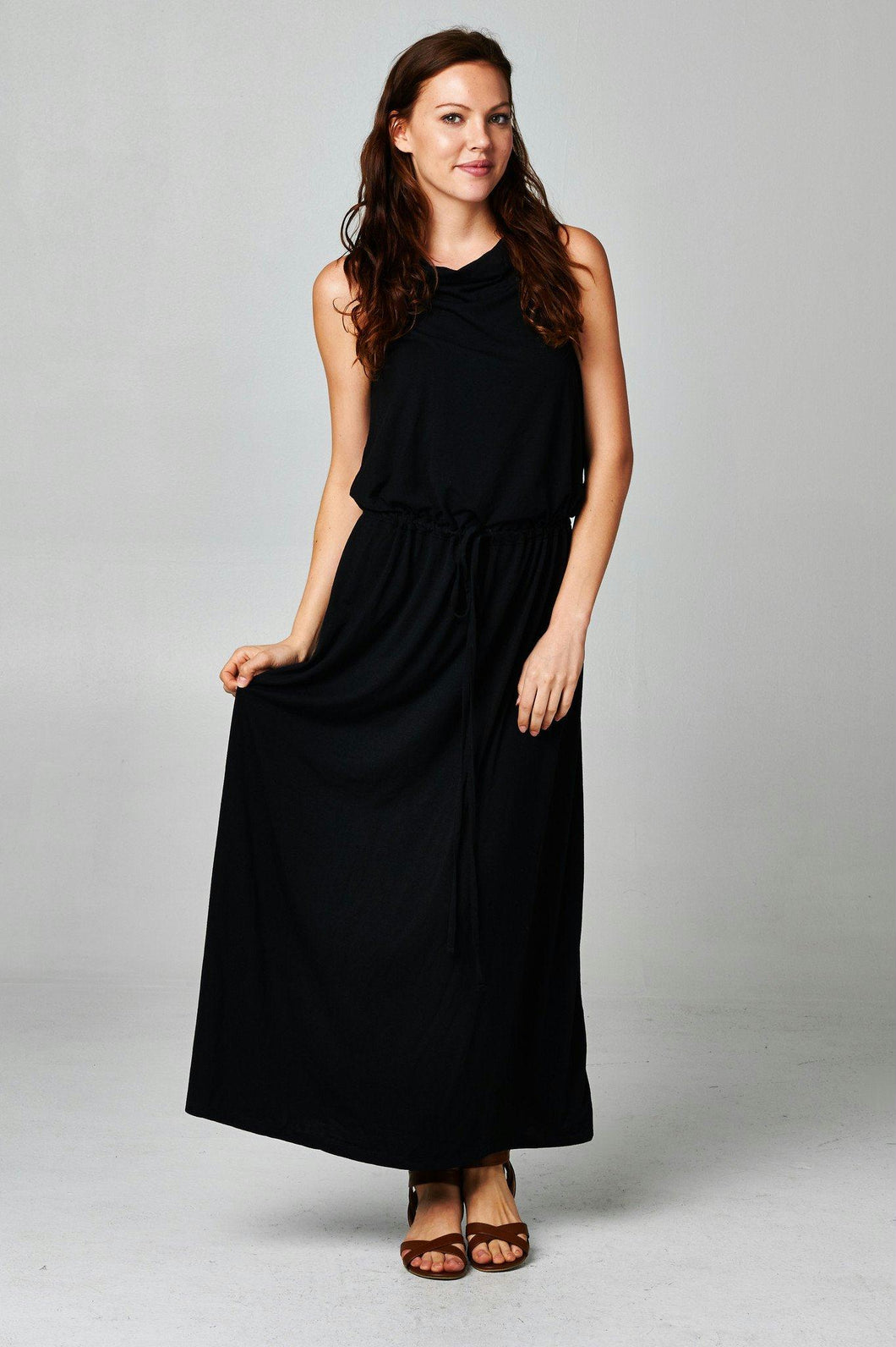 Women's Black Maxi Dress