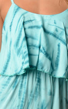 Load image into Gallery viewer, Women's Printed Tie Dye Maxi Dress