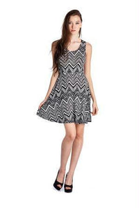 Women's Printed Jersey Dress