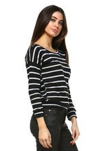 Load image into Gallery viewer, Women's Stripe Sweater