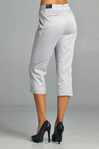 Women's Stretch Slim Crop Pant