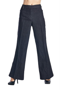 Larry Levine Black Stretch Pants
