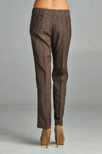 Women's Twill Crop Pants