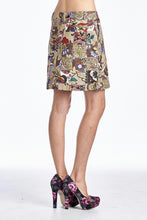 Load image into Gallery viewer, Women's Batik Printed Patchwork Skirt