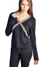 Load image into Gallery viewer, Women's Long Sleeve Sweater Top