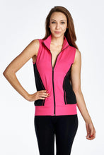 Load image into Gallery viewer, Women's Color Block Active Vest Jacket