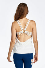 Load image into Gallery viewer, Women's Fitted Active Top with Back Detail