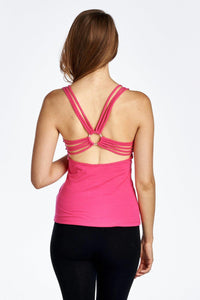Women's Fitted Active Top with Back Detail