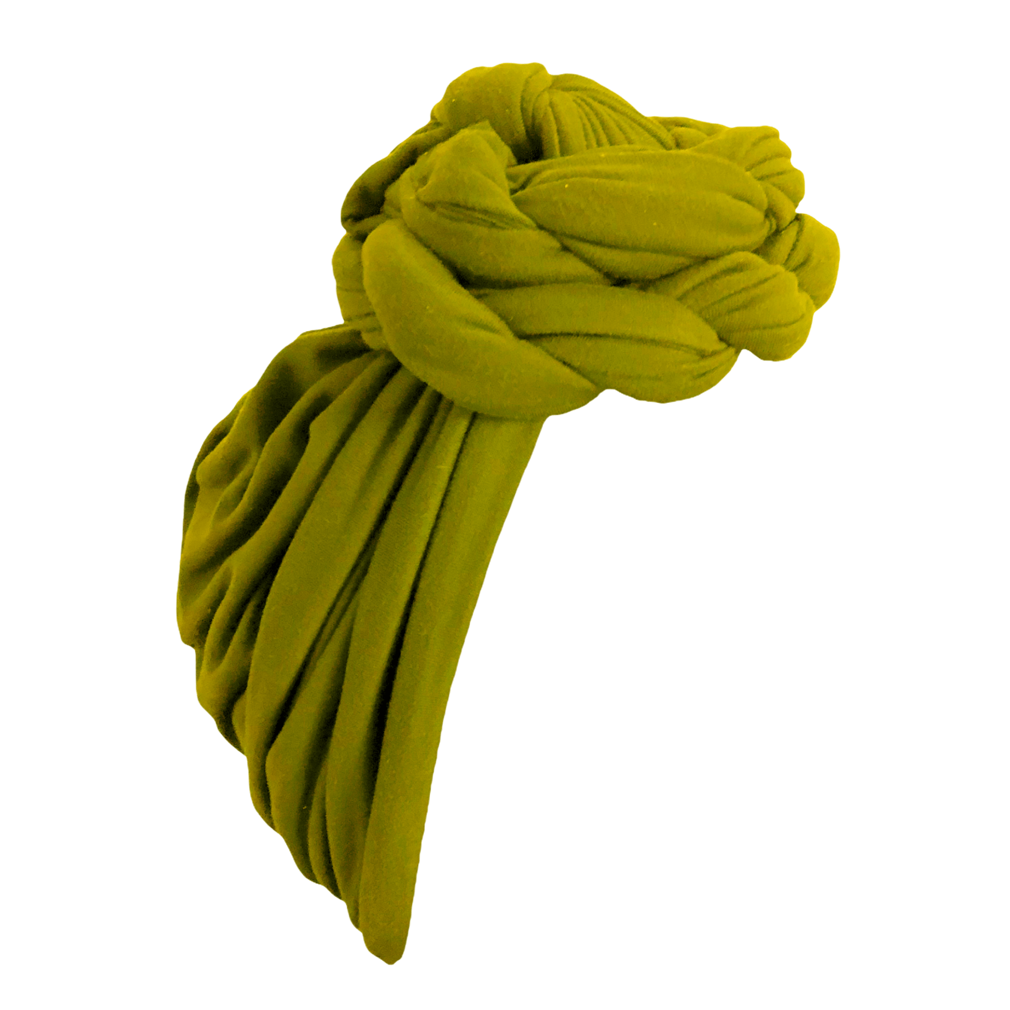 Moss Green Ladies Turban