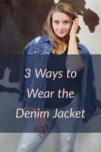 3 Ways to Wear the Denim Jacket