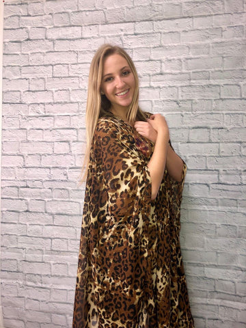Olivia Leopard Duster