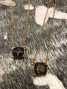 Camille Leopard Necklace - brookesshop