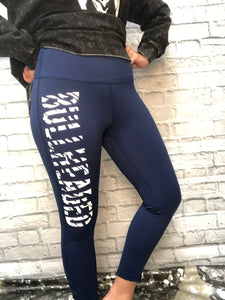 Bullheaded Zebra Leggings