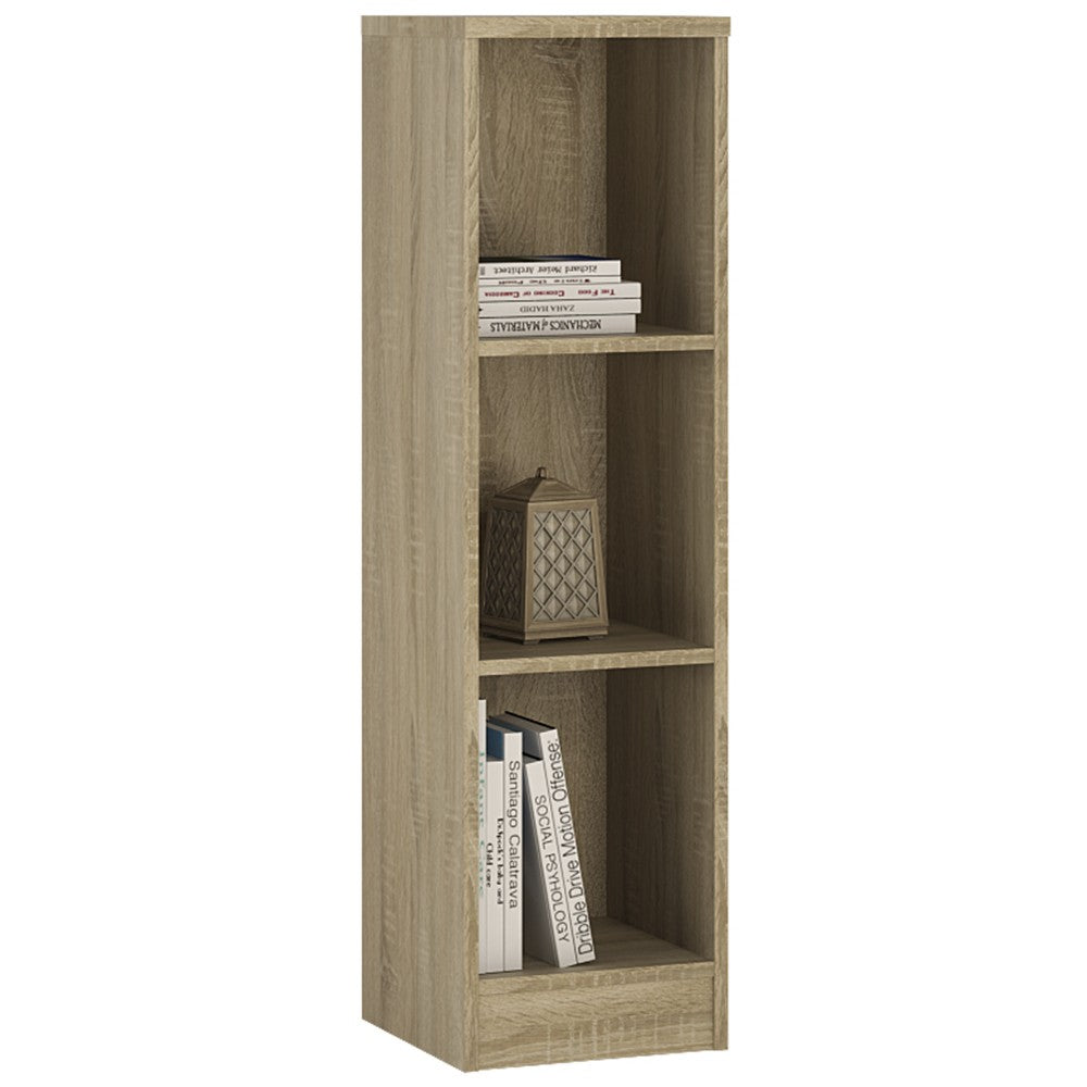 4 You Medium Narrow Bookcase in Sonama Oak