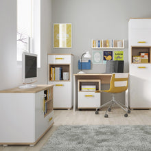 Load image into Gallery viewer, 4KIDS Desk with mobile and narrow cabinet (orange package) - 4058544P + 4058144P + 4053344P