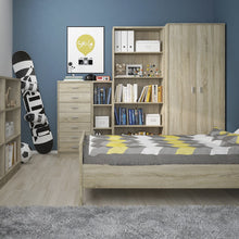 Load image into Gallery viewer, 4 You Single bed in Sonama Oak