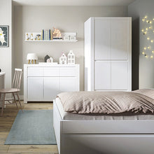 Load image into Gallery viewer, Novi 120cm Bed in Alpine White