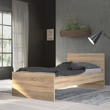 Load image into Gallery viewer, Naia Single Bed 3ft (90 x 190) in Oak