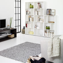 Load image into Gallery viewer, Maze Bookcase 2 Shelves in White