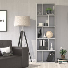 Load image into Gallery viewer, Maze Bookcase 4 Shelves in White