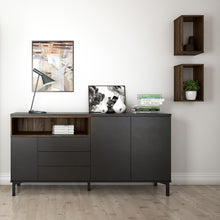 Load image into Gallery viewer, Roomers Wall Shelf Unit in Walnut